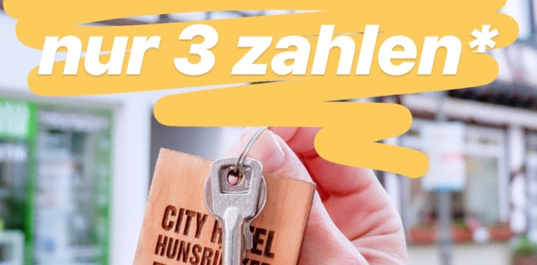 SUMMER OFFER «4 FOR 3» INCL. BREAKFAST